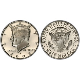 2003-S Kennedy Half Dollar Proof