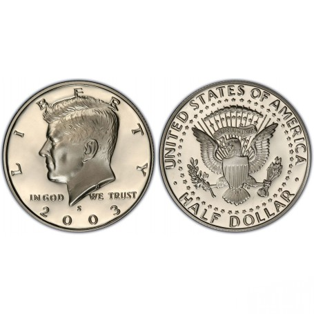 2003-S Kennedy Half Dollar Proof