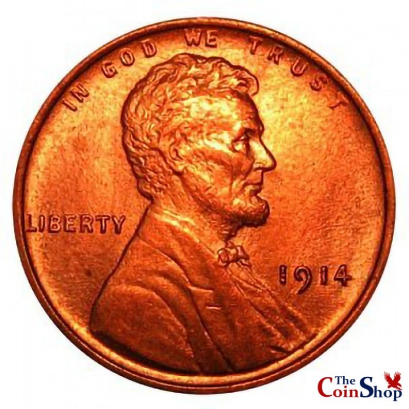 1914-P Lincoln Wheat Cent