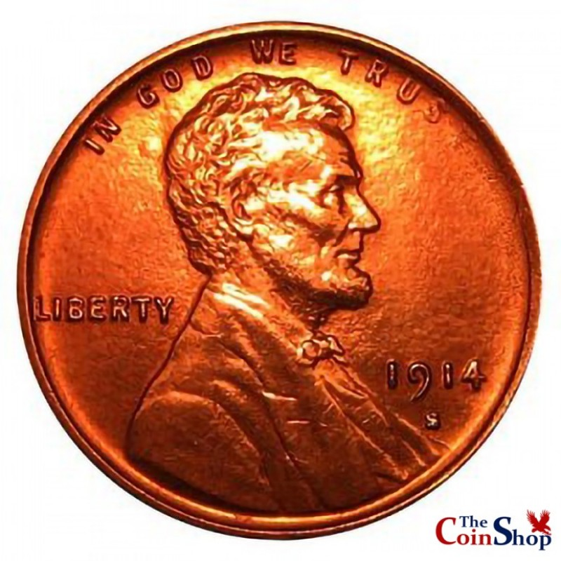 1914-S Lincoln Wheat Cent