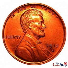 1915-S Lincoln Wheat Cent