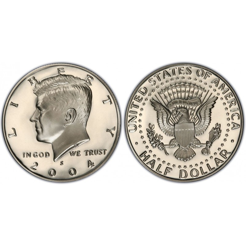 2004-S Kennedy Half Dollar Proof