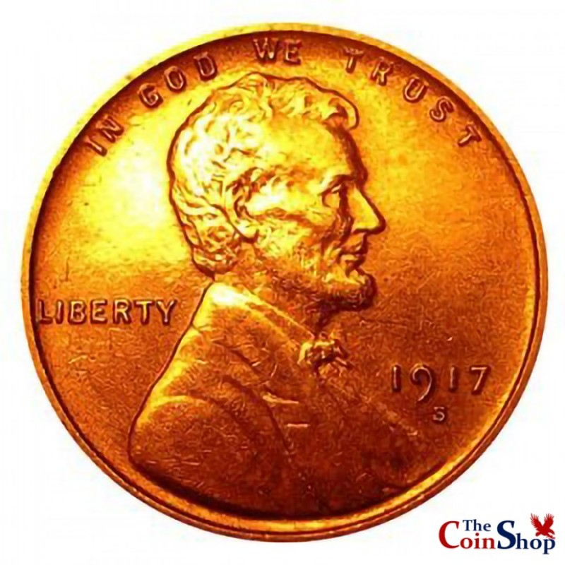 1917-S Lincoln Wheat Cent