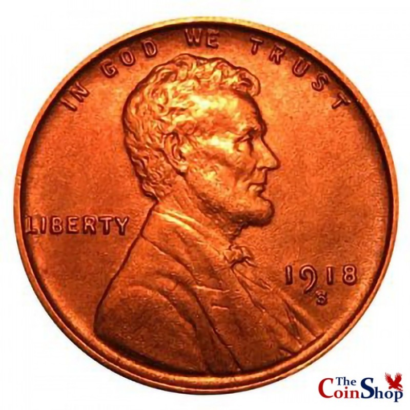 1918-S Lincoln Wheat Cent