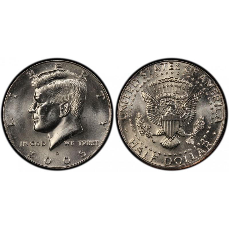 2005-D Kennedy Half Dollar