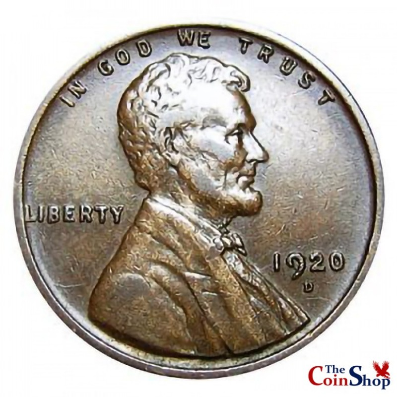1920-D Lincoln Wheat Cent