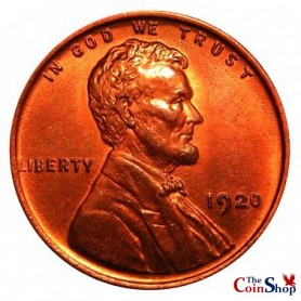 1920-P Lincoln Wheat Cent