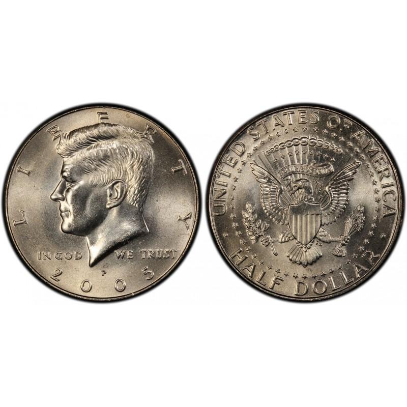 2005-P Kennedy Half Dollar