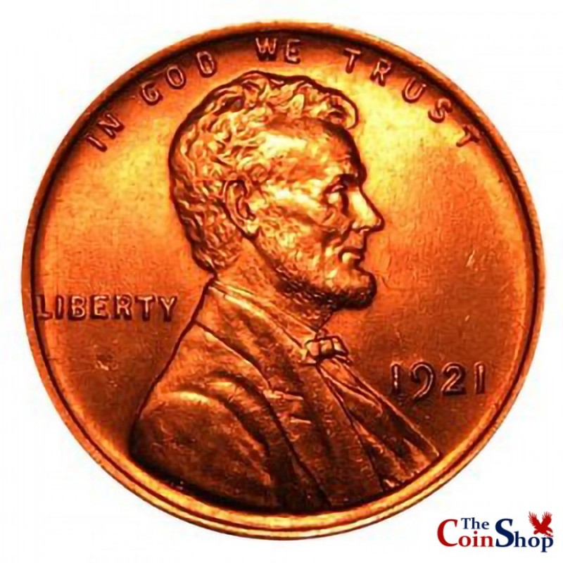 1921-P Lincoln Wheat Cent
