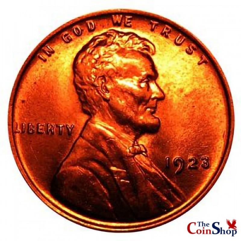 1923-P Lincoln Wheat Cent