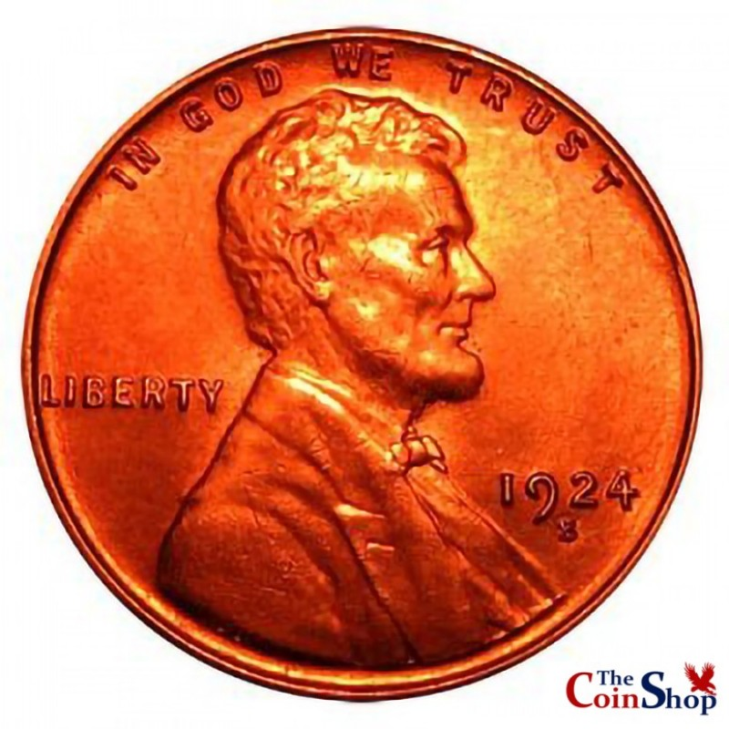 1924-S Lincoln Wheat Cent