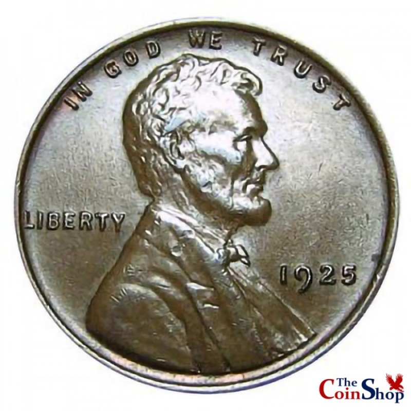 1925-P Lincoln Wheat Cent