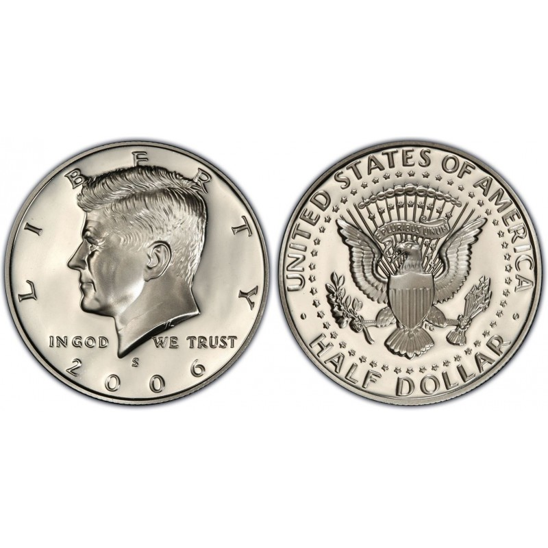 2006-S Kennedy Half Dollar Proof