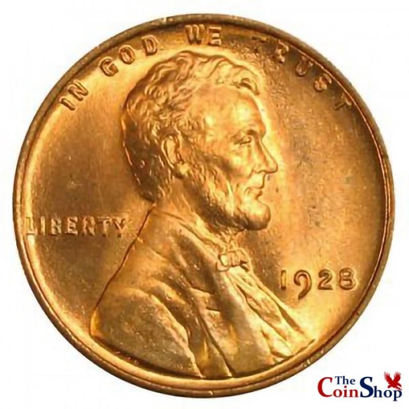 1928-P Lincoln Wheat Cent