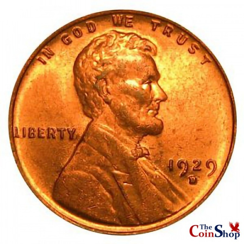 1929-D Lincoln Wheat Cent