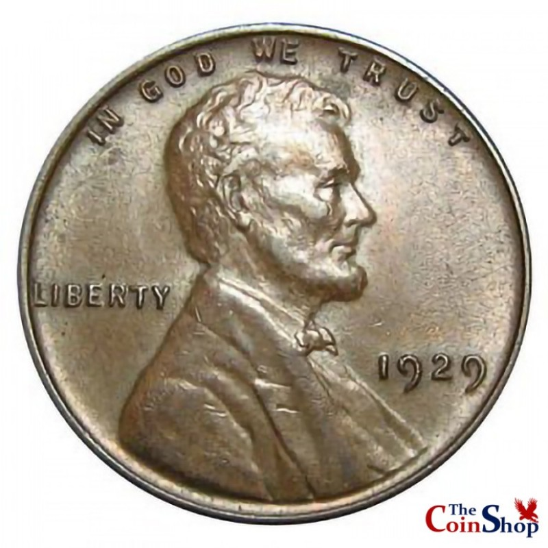 1929-P Lincoln Wheat Cent