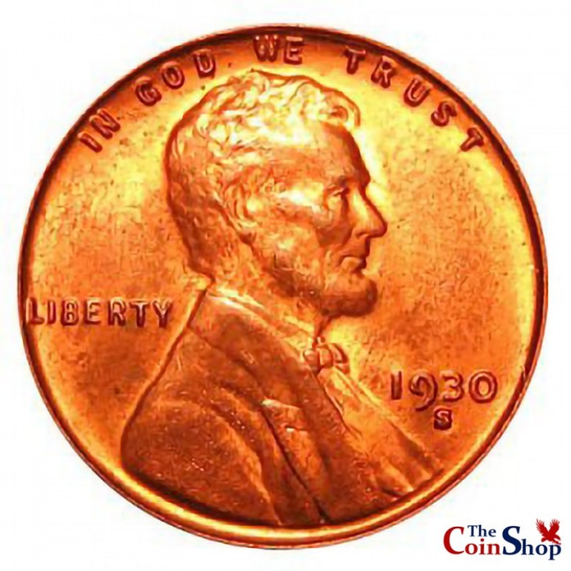 1930-S Lincoln Wheat Cent