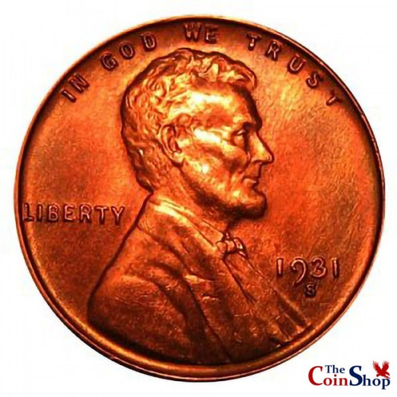 1931-S Lincoln Wheat Cent