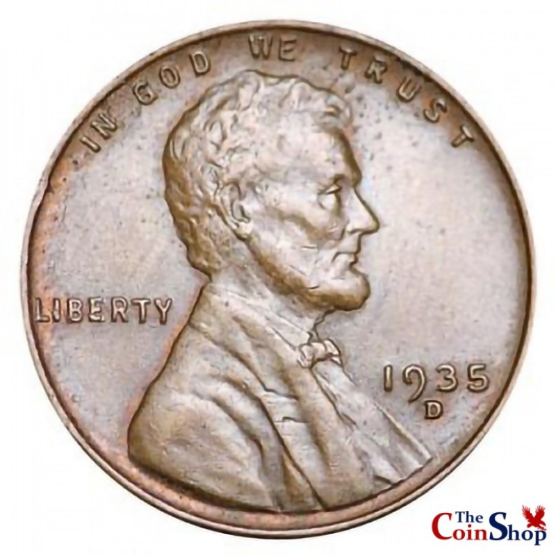1935-D Lincoln Wheat Cent