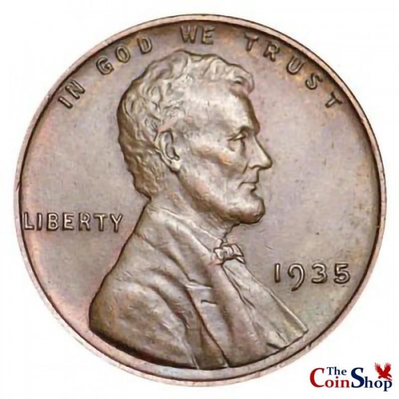 1935-P Lincoln Wheat Cent