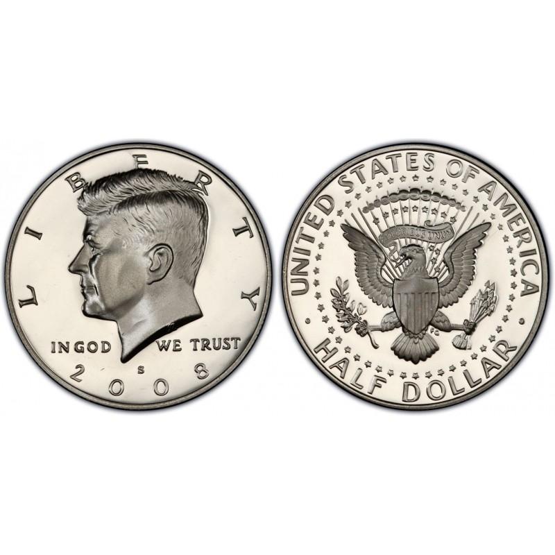 2008-S Kennedy Half Dollar Proof