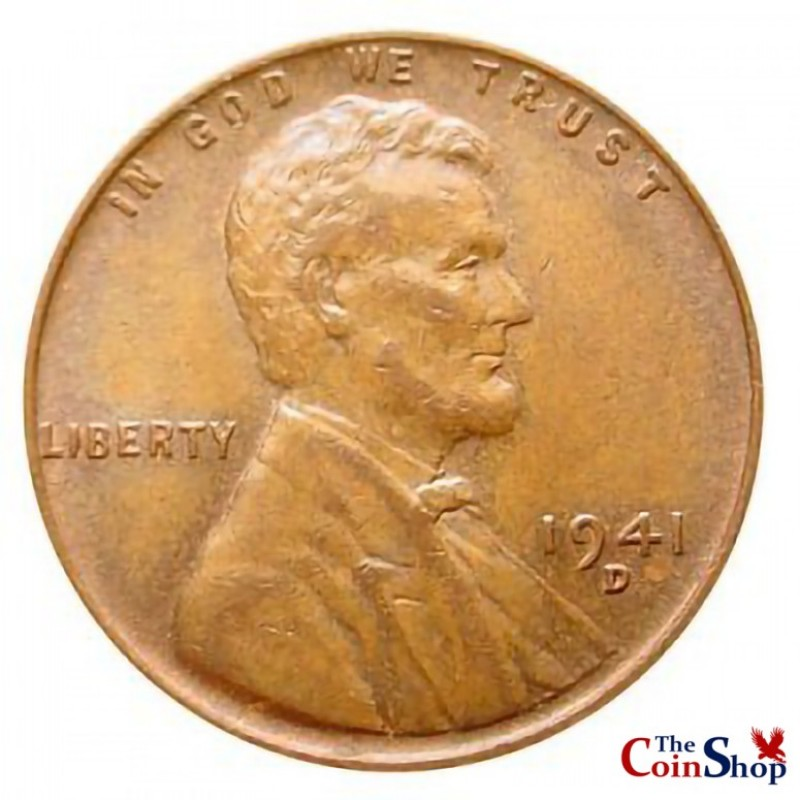 1941-D Lincoln Wheat Cent