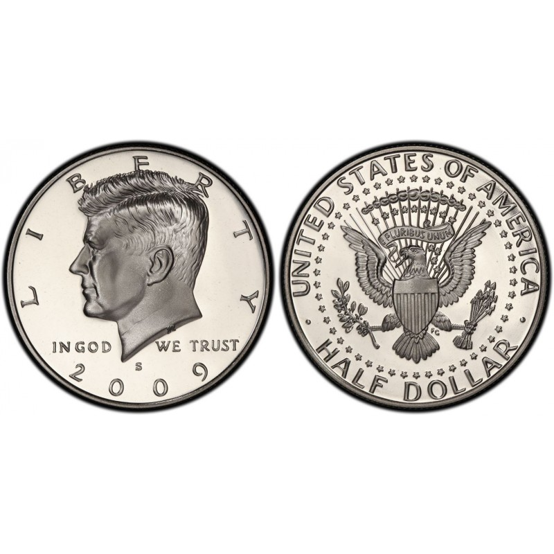 2009-S Kennedy Half Dollar Proof