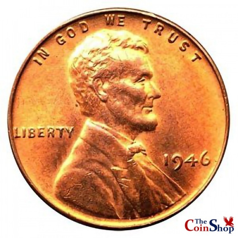 1946-P Lincoln Wheat Cent