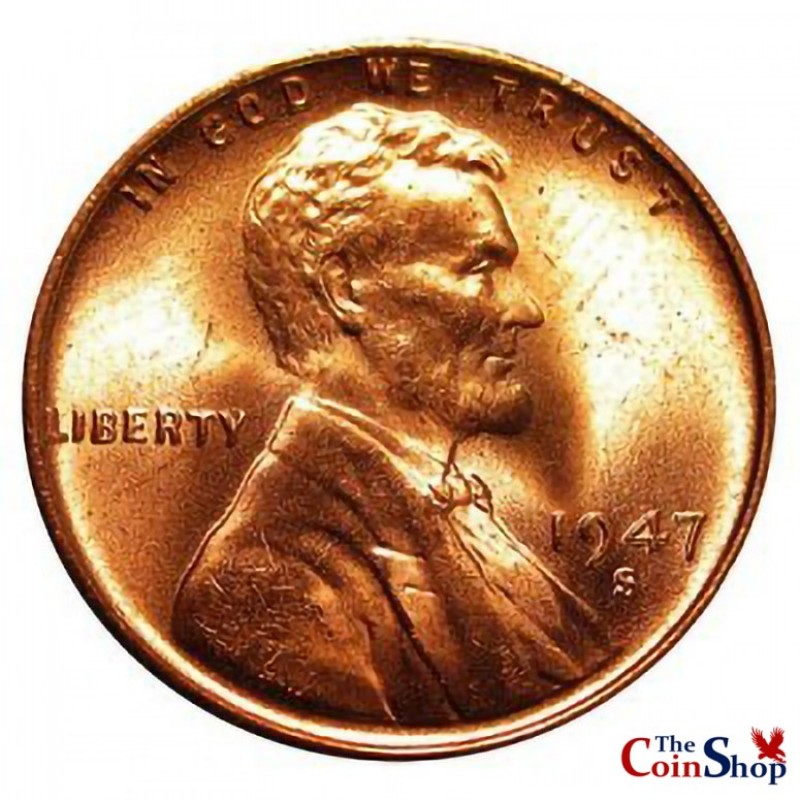 1947-S Lincoln Wheat Cent