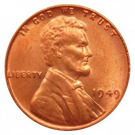 1949-P Lincoln Wheat Cent