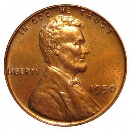 1950-P Lincoln Wheat Cent