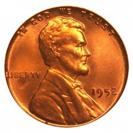 1952-P Lincoln Cent