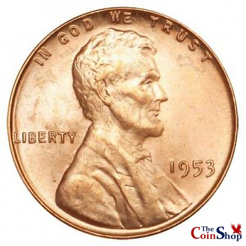 1953-P Lincoln Wheat Cent