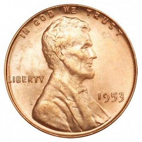 1953-P Lincoln Wheat Cent