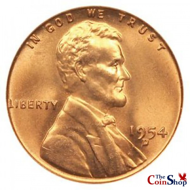 1954-D Lincoln Wheat Cent
