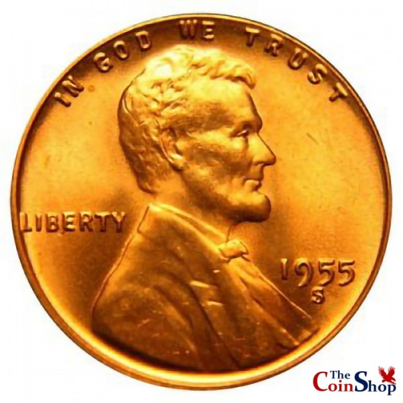 1955-S Lincoln Wheat Cent