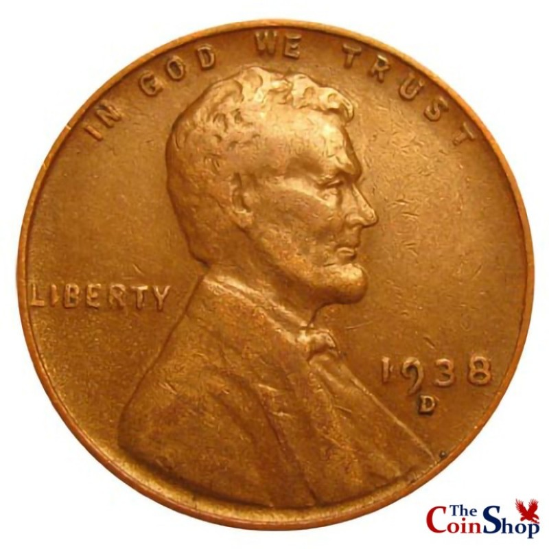 1938-D Lincoln Wheat Cent