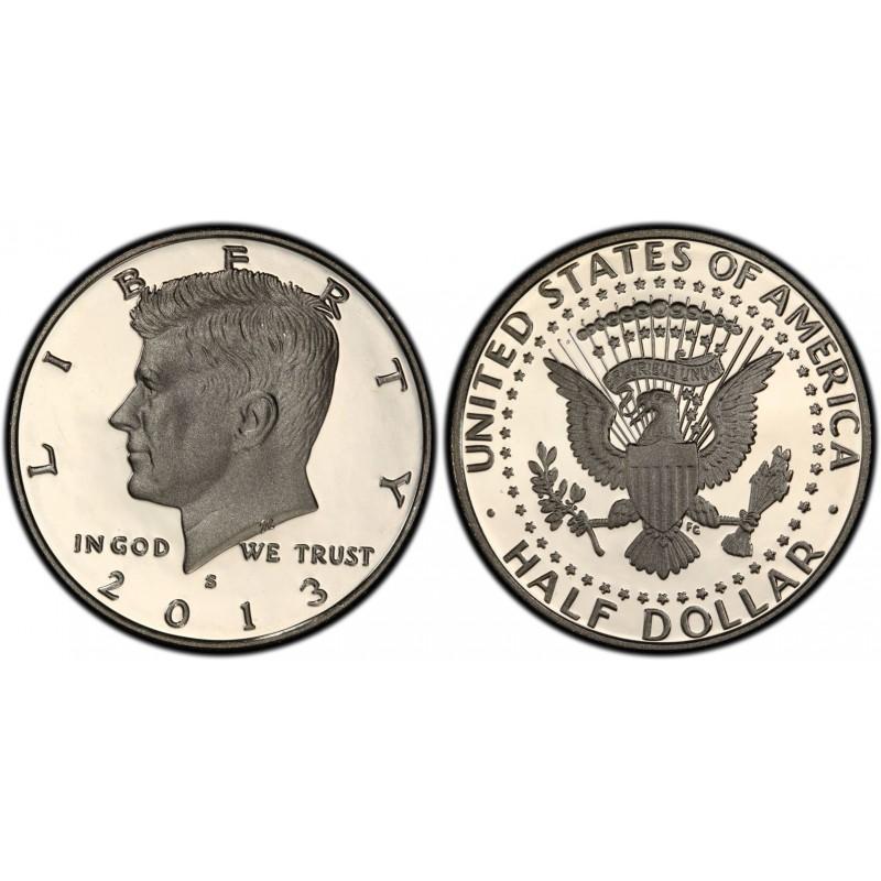 2013-S Kennedy Half Dollar Proof Key Date