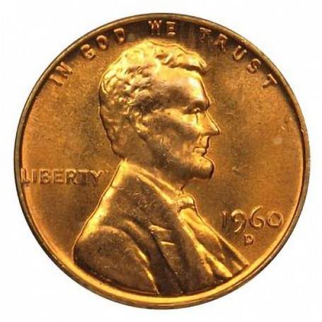 Proof 1960 Lincoln Memorial Cent  P Uncirculated
