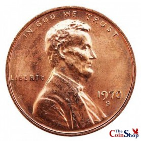 1970-S Small Date Lincoln Memorial Cent Cent