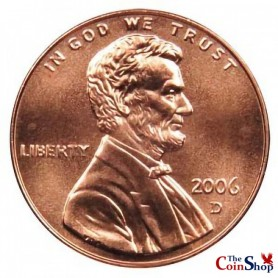 2006-D Lincoln Memorial Cent