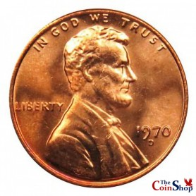 1970-D Lincoln Memorial Cent