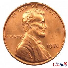 1970-P Lincoln Memorial Cent