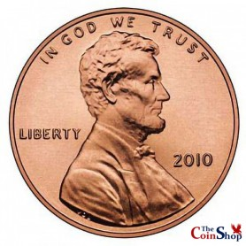 2010-P Lincoln Shield Cent