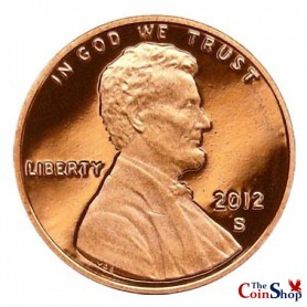 2012-S Lincoln Shield Cent