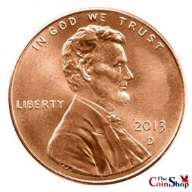 2013-D Lincoln Shield Cent