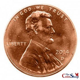 2014-D Lincoln Shield Cent