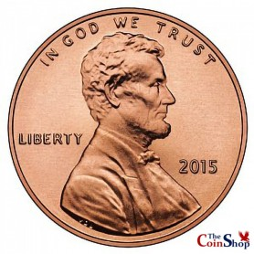 2015-P Lincoln Cent