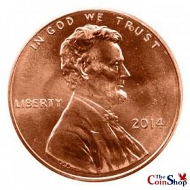 2014-P Lincoln Shield Cent