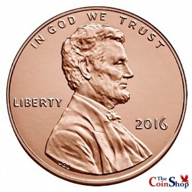 2016-P Lincoln Cent